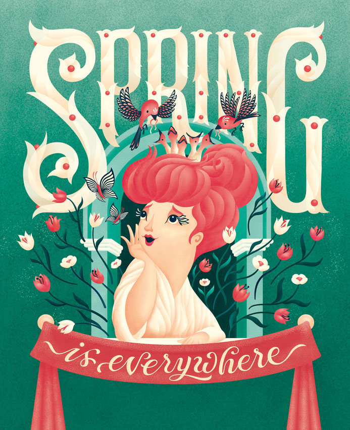 Illubelle - Julia Kerschbaumer - Spring is everywhere
