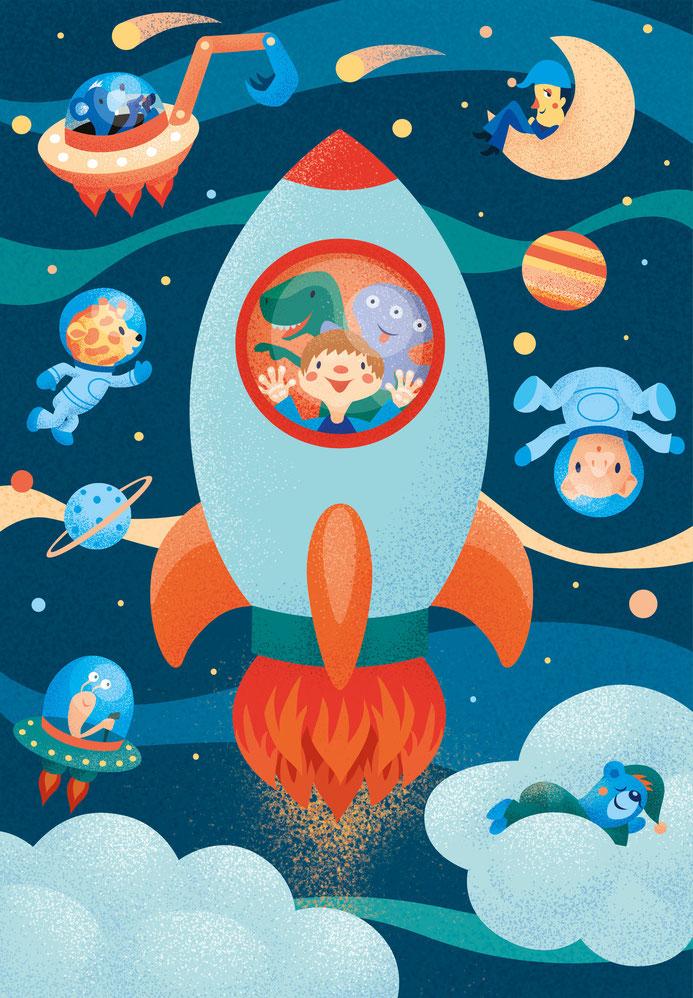 Illubelle - Julia Kerschbaumer - Rocket Poster