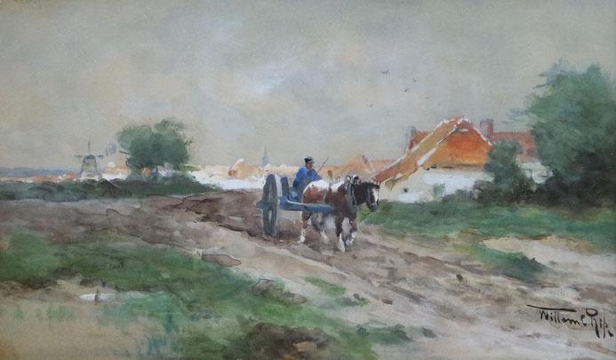 aquarel_van_Willem_Cornelis_Rip_1856-1922_de_haagse_school