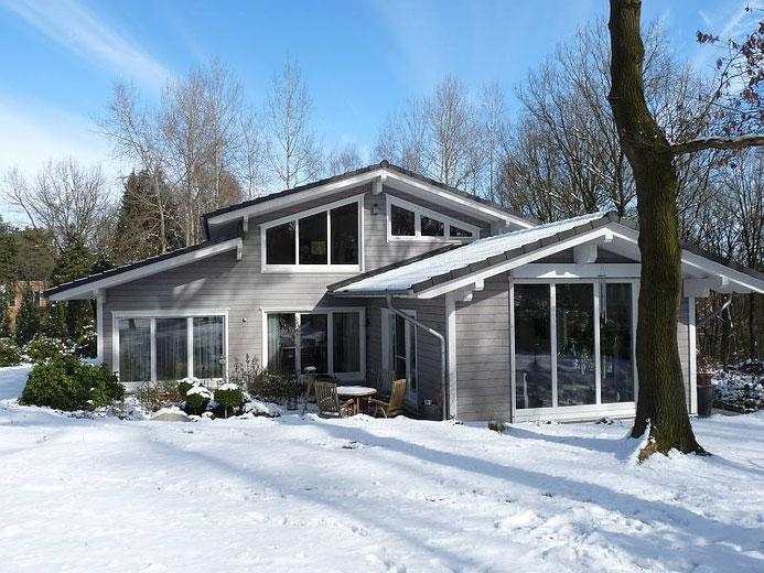 Bespoke energy efficient timber eco house