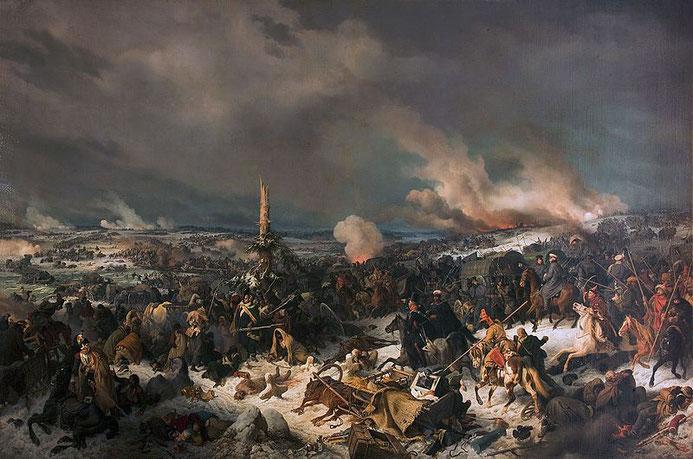 """January Suchodolski, """"Passaggio di Napoleone sulla Beresina"""" (1866)"""