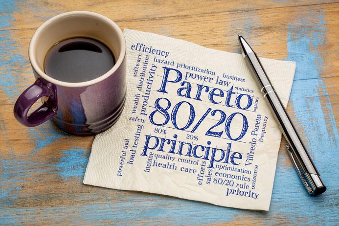 Probier das 80:20-Prinzip aus