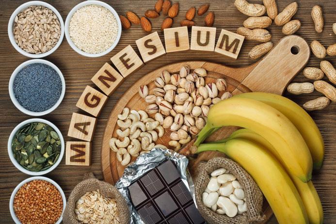 Magnesium steckt in unzähligen Lebensmitteln