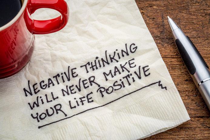 Negatives akzeptieren