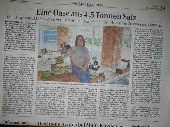 Gelnhäuser Neue Zeitung 23.08.2019
