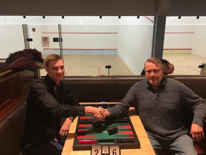 Zdenenk Zizka (links) Finalist gegen seinen Landsmann und Monatssieger Jan Cerny