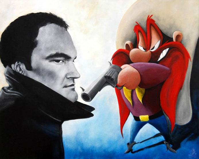 """""""Glourious Basterds"""" 2013, acrylic on canvas, 80x100"""