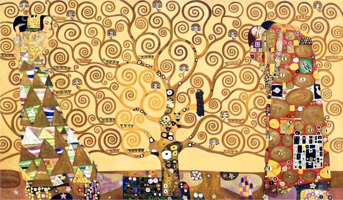 Gustav Klimt arbre de vie cycle 2