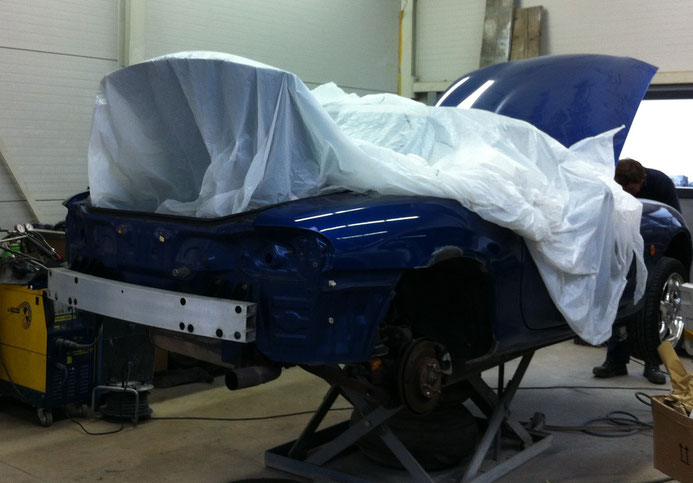 MX-5 in der Werkstatt 2012