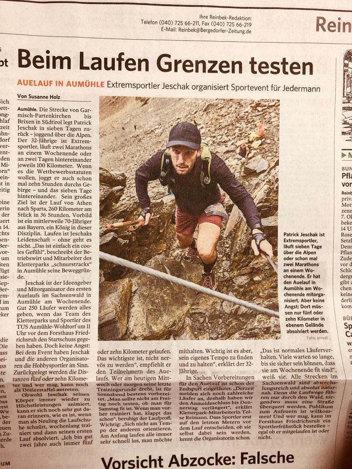 Bergedorfer Zeitung - September 2018