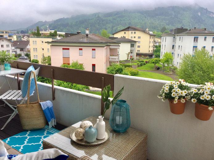 ReDesign Einrichtung Balkon Outdoor Lounge Trinidat Kunststoffgeflecht Rattan Do it garden Brunnen