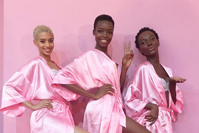 Foto: @heriethpaul(Instagram) v.l.n.r: Jourdana Phillips, Herieth Paul, Maria Borges