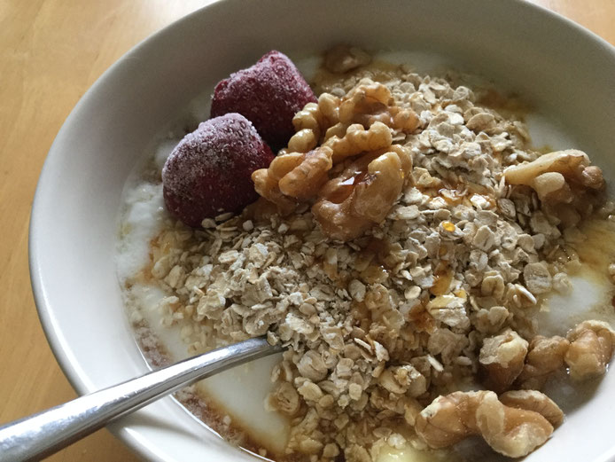 オートミールで栄養豊かな時短朝食