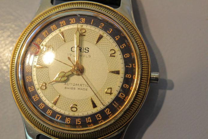 リューズが無くなってしまったオリス腕時計。純正部品が手に入らなければメーカー修理か、それとも……?