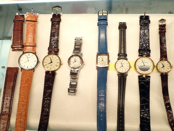 年末は時計修理。とにかく電池交換。時計の状態をチェックしつつ、着実に時計を復活させてます