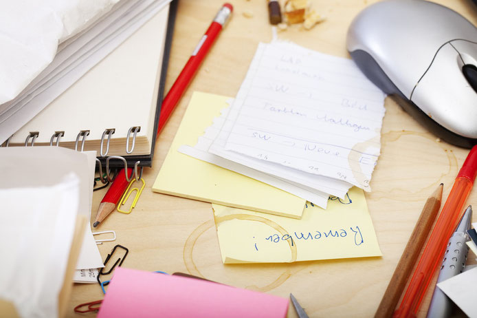 Büro, Alltag, Stifte, Schreibtisch