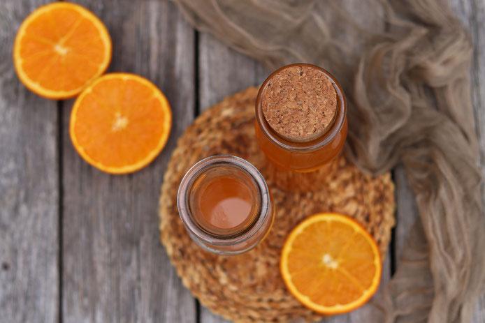 Orangensirup selbstgemacht