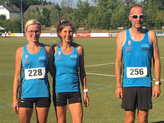 Carola Müller, Yvonne Heck und Sedric Haus