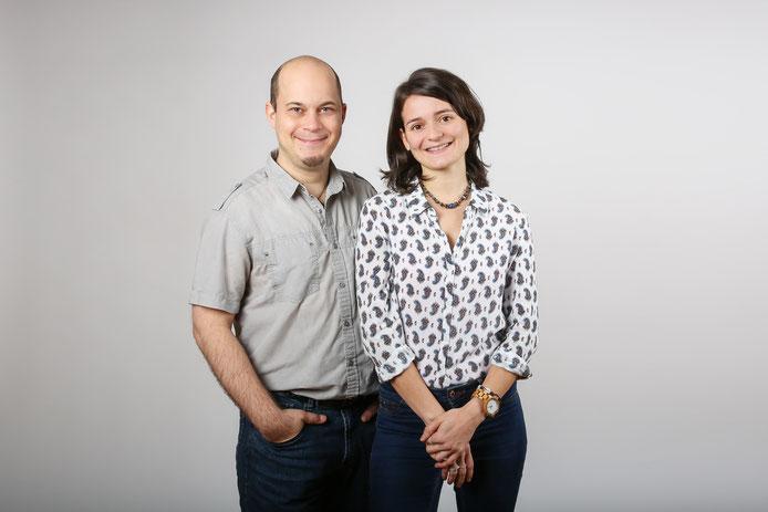 Online-Marketing mit Simon Döring und Marion Winkler im Bioladen
