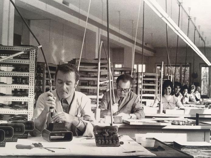 Gewerbepark Hörl Augsburg, Uhrenmanufaktur um 1950