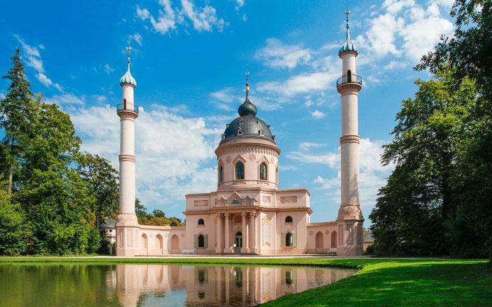 Moschee - Schlossgarten Schwetzingen Bild: Theo Stadtmüller
