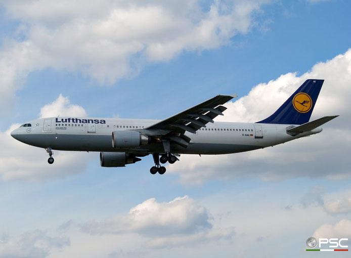 D-AIAI A300B4-603 391 Lufthansa @ London Heathrow Airport 15.04.2008 © Piti Spotter Club Verona