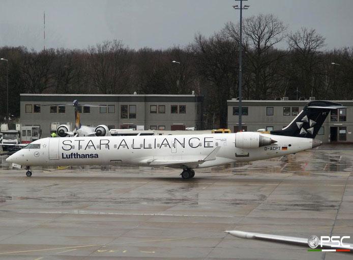 D-ACPT CRJ701ER 10103 Lufthansa Regional   @ Berlin Tegel Airport 18.03.2007 © Piti Spotter Club Verona