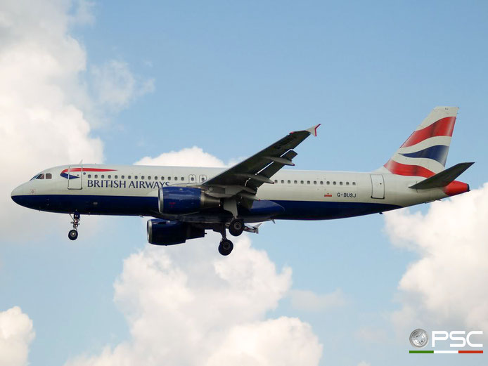 G-BUSJ A320-211 109 British Airways @ London Heathrow Airport 29.08.2007 © Piti Spotter Club Verona