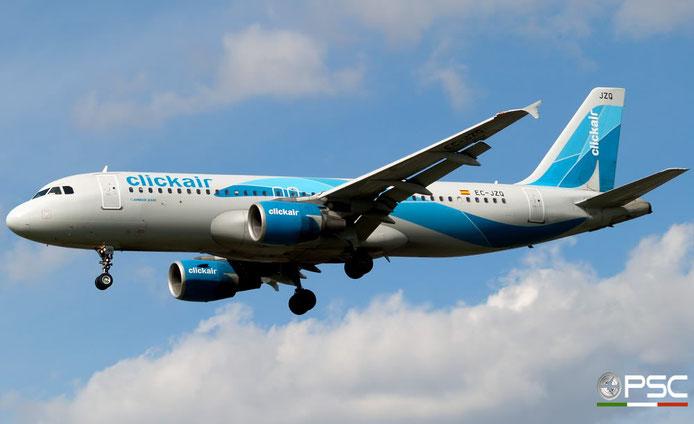 EC-JZQ A320-214 992 Vueling Airlines @ London Heathrow Airport 05.05.2007 © Piti Spotter Club Verona