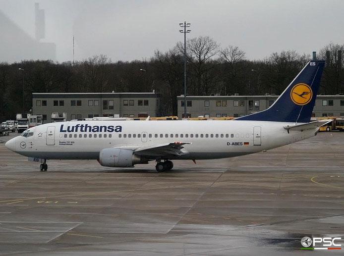D-ABES B737-330 26432/2247 Lufthansa @ Berlin Tegel Airport 18.03.2007 © Piti Spotter Club Verona