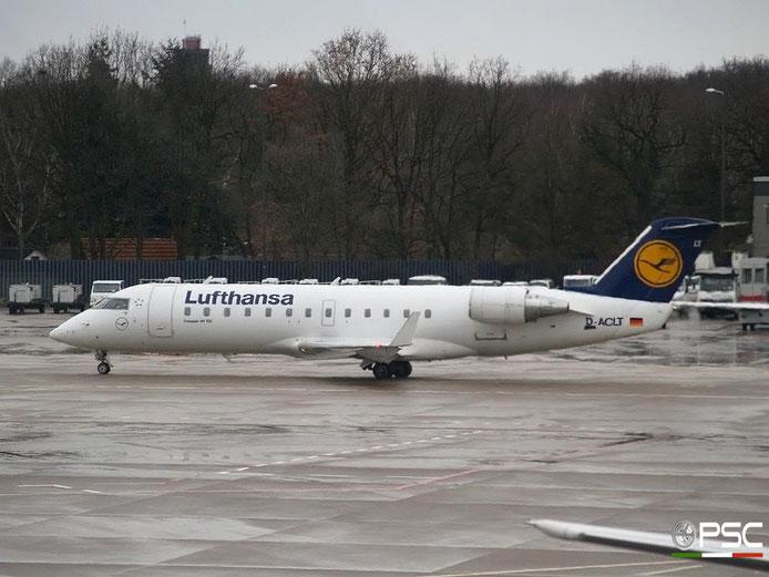 D-ACLT CRJ100LR 7093 Lufthansa @ Berlin Tegel Airport 18.03.2007 © Piti Spotter Club Verona