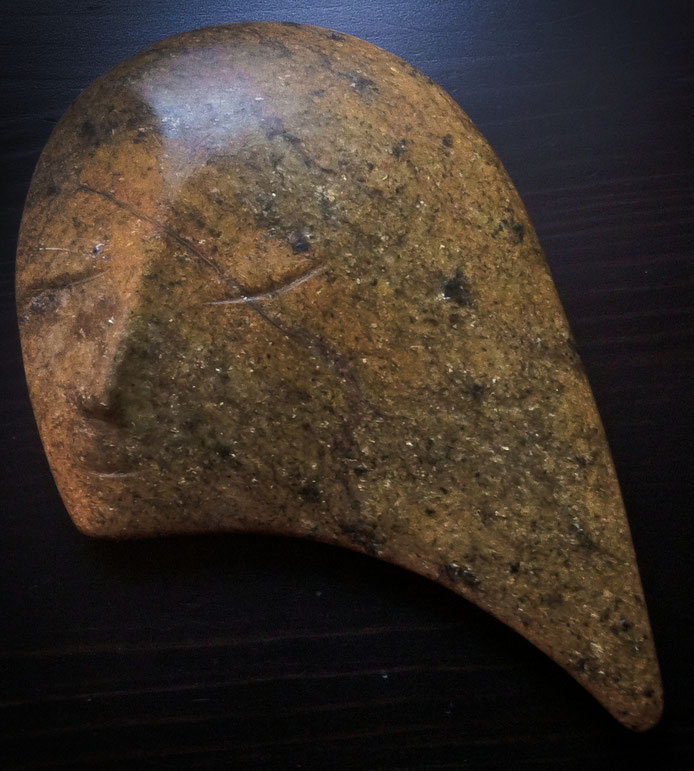 Mond Neumond deine Sichel / Zweiter Stein zu einem Gedicht von Inge Müller / Foto HF