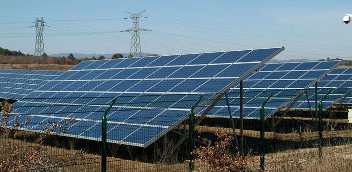 Parc photovoltaïque de Vinon sur Verdon