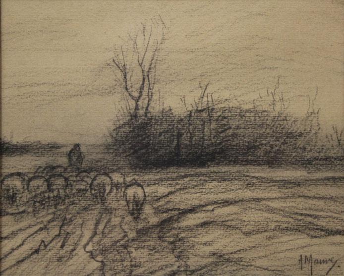 te_koop_aangeboden_een_houtskooltekening_van_de_kunstschilder_anton_mauve_1838-1888_haagse_school