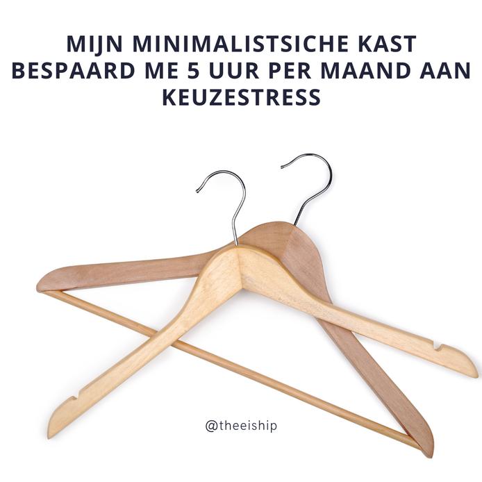 De voordelen van een minimalistische kledingkast. By Thee is Hip!