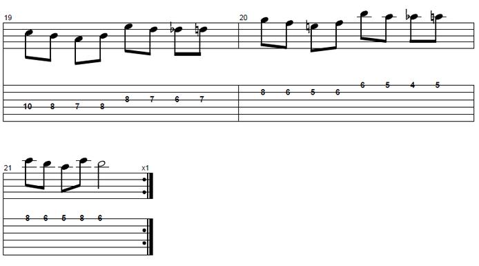 【初心者】ジャズギター入門:アプローチノート6