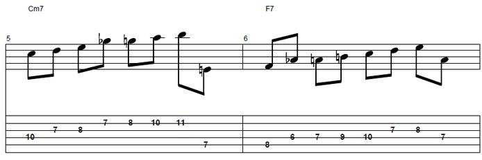 【初心者】ジャズギター入門:アプローチノート2