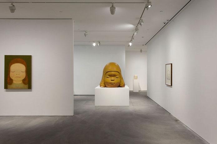 2018年香港ペースギャラリーでの個展「Ceramic Works and…」