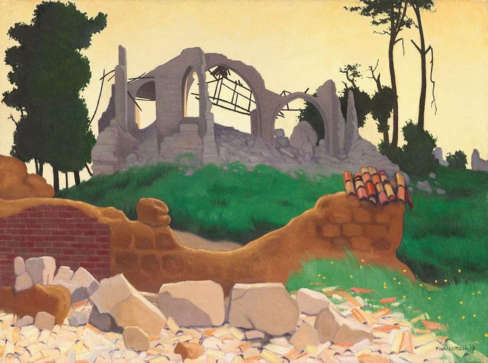 《スアン教会》1917年