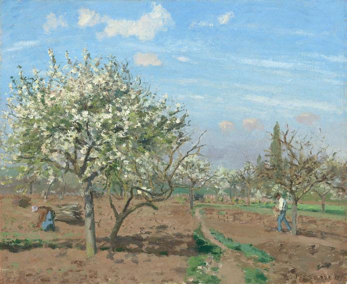 《果樹園》1872年