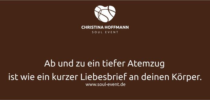 Weisheiten zur Heldenreise, Zitat von Christina Hoffmann