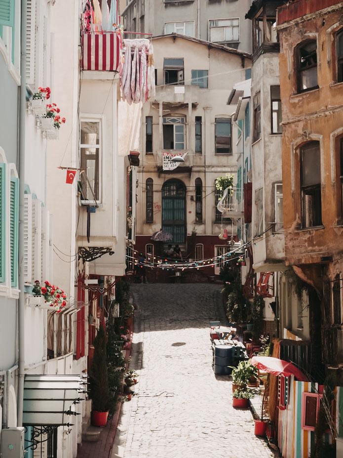 Mal ehrlich: diese Straße könnte es doch genauso gut in Italien oder Spanien geben