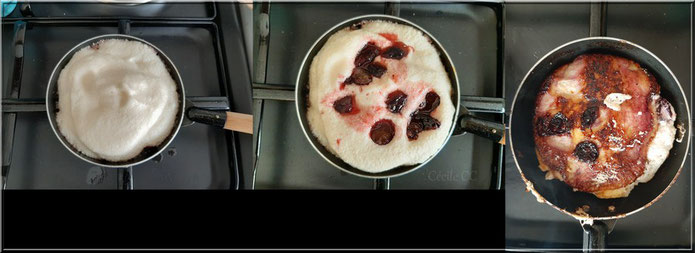 recette omelette sucree aux fruits