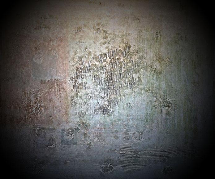 Planet - Acrílico sobre lienzo - 170H x 180W x 3cm