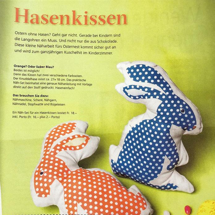 DIY Hasen-Kissen