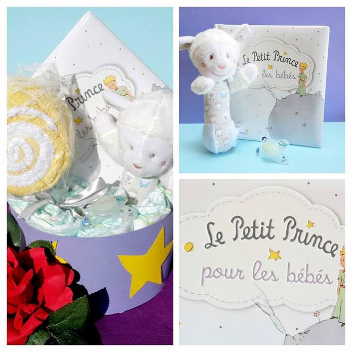 Gâteau de couches Le Petit Prince d'Antoine de Saint Exupéry
