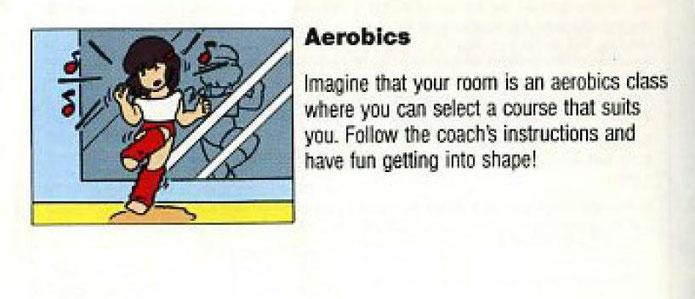 dance aerobics nes