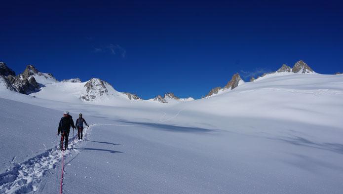 Jour 2 sur la Glacier de Trient