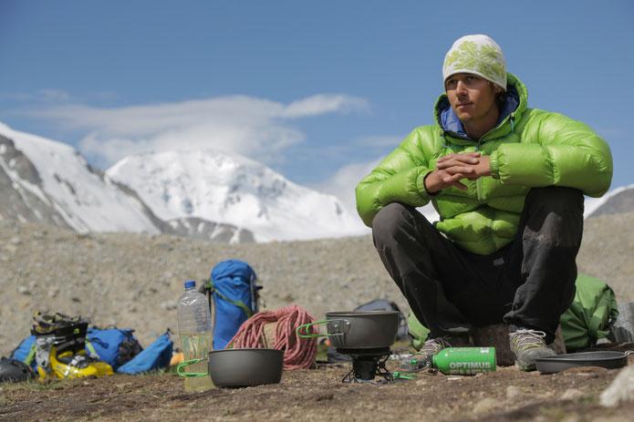 camp de base mont Khuiten - Mongolie