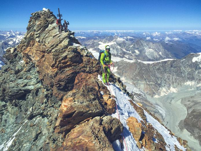 Sommet du Matterhorn - Cervin - 4478m (Photo de Thomas Guerrin)